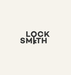 Locksmith logo vector