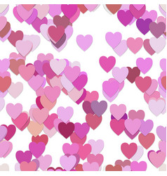 Seamless valentines day pattern background vector