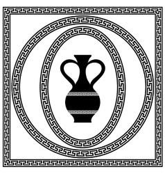 Set of Greek Frames vector image