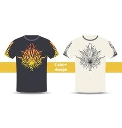 Tshirt Design Abstract Marijuana vector