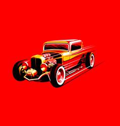 Vintage car 16 vector
