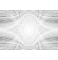 abstract light grey tech wavy pattern background vector image vector image