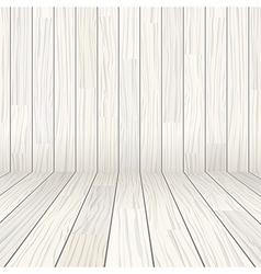 wooden texture empty room background vector image vector image