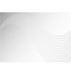abstract gray geometric wave background vector image