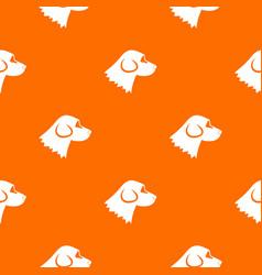Beagle dog pattern seamless vector