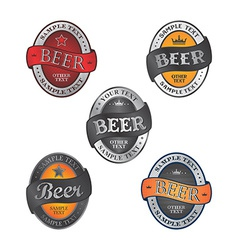 Beer theme vector