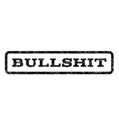 bullshit watermark stamp vector image