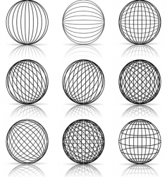 construction of the ball vector image