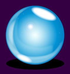 Crystal ball vector