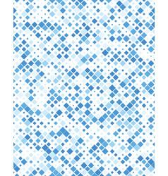 diagonal square mosaic pattern vector image
