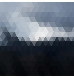 Digital triangle pixel mosaic vector