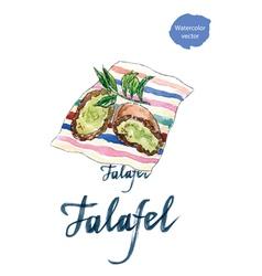 Falafel vector