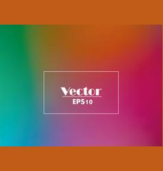 rainbow gradient multicolored background vector image