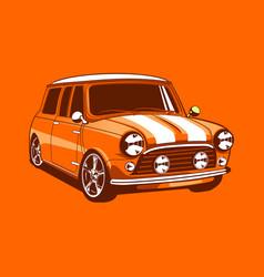 Vintage car 17 vector
