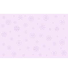 Christmas in gentle pink tones vector image