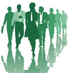 teamwork people business team vector image