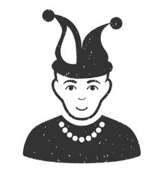 Fool Grainy Texture Icon vector image
