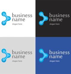 Logo innovative technologies vector