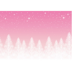 A seamless snowy landscape vector