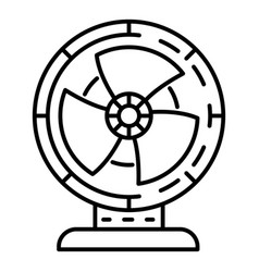 air fan icon outline style vector image