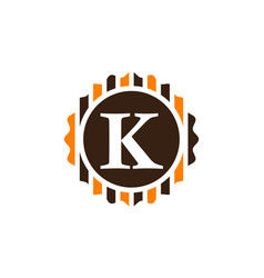 Best quality letter k vector