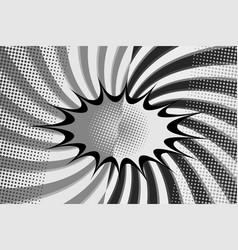 comic fight monochrome background vector image