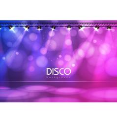Disco ball abstract background vector
