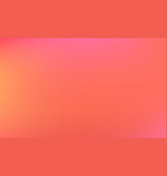 Living coral color gradient background trend vector
