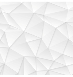 Polygonal abstract grey tech background vector image