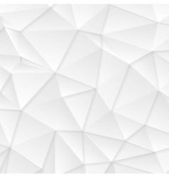 Polygonal abstract grey tech background vector