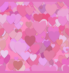 seamless valentines day pattern background vector image