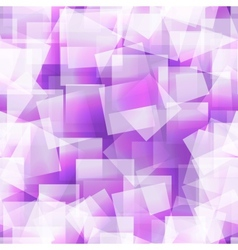 Abstract square seamless purple background vector image vector image