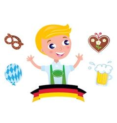 bavarian octoberfest vector image