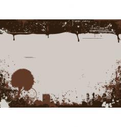 chucky grunge vector image