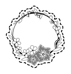 Delicate flower icon image vector