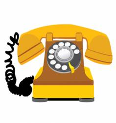 home phone vector image