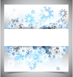 Blue and white modern abstract background vector image vector image