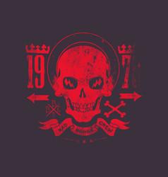 bad bones crew 1978 vector image