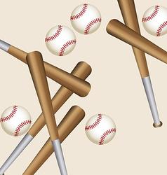 baseball sport vector image