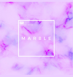 creative marble vector image