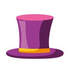 elegant high top hat male vector image