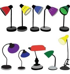 Lamps - vector