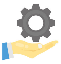 Seo services flat icon vector