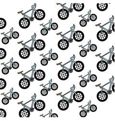 bicycle vehicle isolated vector image
