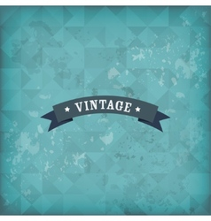 Vintage old retro background vector image