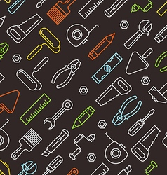Different industrial equipment tools color vector image vector image