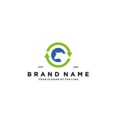 Cow and arrow logo design vector