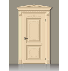 Door in the wall vector