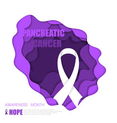 pancreatic cancer background vector image