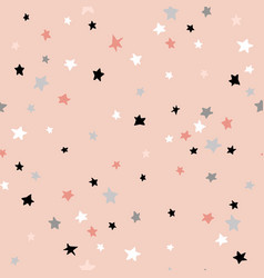 Seamless abstract pattern with stars creative vector